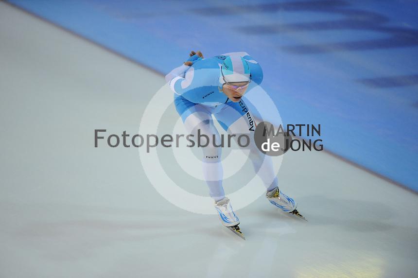 SCHAATSEN: GRONINGEN: Sportcentrum Kardinge, 02-02-2013, Seizoen 2012-2013, Gruno Bokaal, Koen Verweij, ©foto Martin de Jong