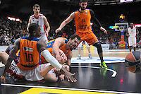 Sato &amp; Ribas vs Kalinic<br /> Euroleague - 2014/15<br /> Regular season Round 8<br /> Valencia Basket vs Crvena Zvezda Telecom Belgrade