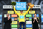 Marc Soler (ESP) Movistar Team the overall title by 4&quot; at the end of Stage 8 of the 2018 Paris-Nice running 110km from Nice to Nice, France. 11th March 2018.<br /> Picture: ASO/Alex Broadway | Cyclefile<br /> <br /> <br /> All photos usage must carry mandatory copyright credit (&copy; Cyclefile | ASO/Alex Broadway)