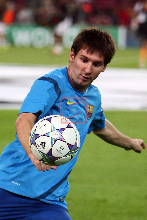 Lionel Messi. FC Barcelona vs AC Milan: 2-2 (UEFA Champions League - Season 1).