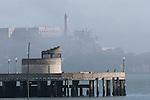 pier and Alcatraz Island