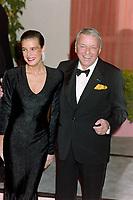ARCHIVE: LOS ANGELES, CA:  c.1990: Frank Sinatra & Princess Stephanie of Monaco.<br /> File photo © Paul Smith/Featureflash