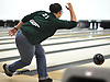 Sofia Sanchez of Seaford rolls a frame during the Nassau County varsity girls bowling small schools championship at AMF Garden City Lanes  on Saturday, Feb. 3, 2018.