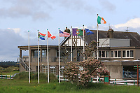 Flags flying at Co. Louth Golf Club during Round 2 of The East of Ireland Amateur Open Championship in Co. Louth Golf Club, Baltray on Sunday 2nd June 2019.<br /> <br /> Picture:  Thos Caffrey / www.golffile.ie<br /> <br /> All photos usage must carry mandatory copyright credit (© Golffile | Thos Caffrey)