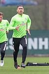 14.04.2018, Trainingsgelaende, Bremen, GER, 1.FBL, Training SV Werder Bremen<br /> <br /> im Bild<br /> Yuning Zhang (Werder Bremen #19), <br /> <br /> Foto &copy; nordphoto / Ewert