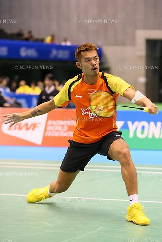 Dan Lin (CHN), June 13, 2014 - Badminton : Yonex Open Japan 2014 Men's Singles at Tokyo Metropolitan Gymnasium, Tokyo, Japan. (Photo by Yohei Osada/AFLO SPORT) [1156]