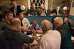 The annual election of the new Portreeve of Laugharne, Carmarthen, Wales on the first Monday following Michaelmas. 2019. Takes place in the Big Court of the town hall. In 2019 David Lynn Jones became the Portreeve.