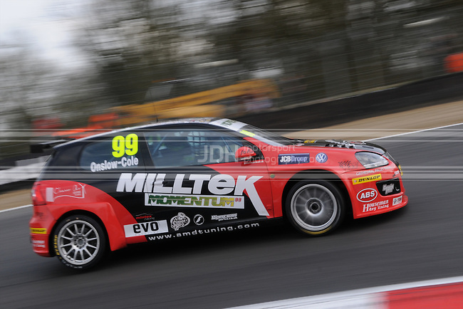 Tom Onslow-Cole - AmD Milltek Racing Volkswagen Golf