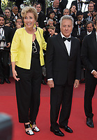 Emma Thompson &amp; Dustin Hoffman at the premiere for &quot;The Meyerowitz Stories&quot; at the 70th Festival de Cannes, Cannes, France. 21 May  2017<br /> Picture: Paul Smith/Featureflash/SilverHub 0208 004 5359 sales@silverhubmedia.com