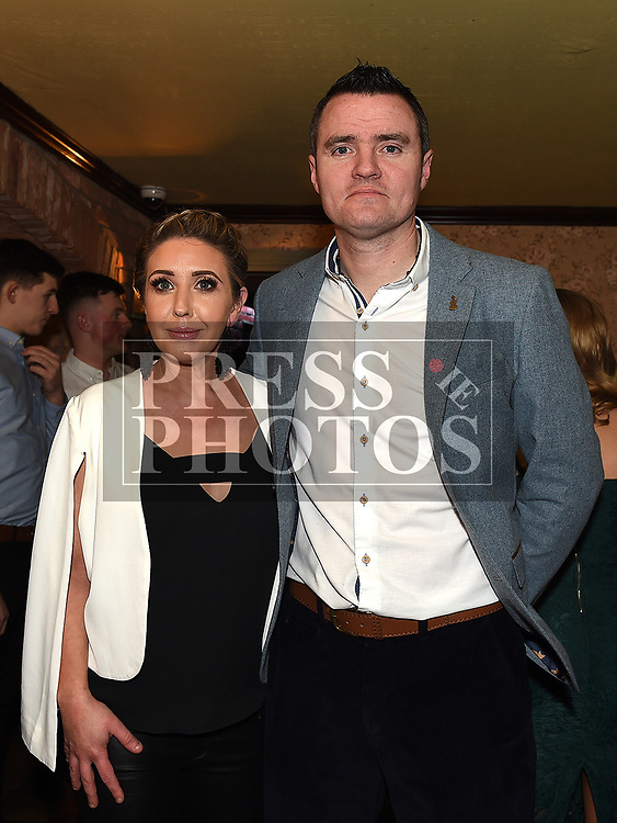Noel and Lynn McGillick at St Mary's GFC awards dinner in Muldoons. Photo:Colin Bell/pressphotos.ie
