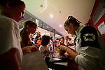 25.08.2018, …VB Arena, Bremen<br />Volleyball, LŠ&auml;nderspiel / Laenderspiel, Deutschland vs. Niederlande<br /><br />Autogrammstunde Team Deutschland / Feature - Louisa Lippmann (#11 GER)<br /><br />  Foto &copy; nordphoto / Kurth