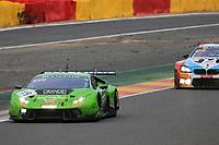 #19 GRT GRASSER RACING TEAM (AUT) LAMBORGHINI HURACAN GT3 PRO CUP EZEQUIEL PEREZ COMPANC (ARG) RAFFAELLE GIAMMARIA (ITA) MARCO MAPELLI (ITA)