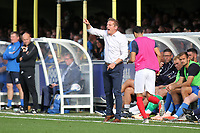 AFC Wimbledon Manager, Neal Ardley during AFC Wimbledon vs Portsmouth, Sky Bet EFL League 1 Football at the Cherry Red Records Stadium on 13th October 2018
