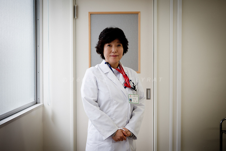 Iwaki, August 1st 2011 - At Iwaki hospital, Keiko Ikemoto is in charge of psychological support. Since March, she reports an increasing number of attempted suicides, especially among young women in their twenties.