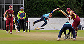 CB40 Cricket - Scottish Saltires V Northampton Steelbacks at Grange CC - Edinburgh - good quality late-innings bowling by Saltire Josh Davey (and others) helped put the Saltires on course for victory - Picture by Donald MacLeod - 17.07.11 - 07702 319 738 - www.donald-macleod.com