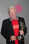 Jerry ver Dorn holds his Daytime Emmy - 13th Annual Daytime Stars and Strikes Bowling for Autism on April 23, 2016 at Bowler City Lanes in Hackensack, NJ hosted by Jerry ver Dorn and Liz Keifer  (Photo by Sue Coflin/Max Photos)