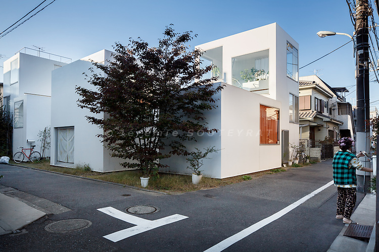 Tokyo, November 11 2010 - Moriyama House by Ryue Nishizawa.