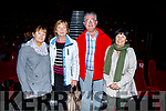 Attending the launch of  launch of a new Irish film &lsquo;For Molly&rsquo; at the Omniplex in Tralee on Friday evening.<br /> L-r, Phil Lynch (Tralee), Kay Roche (Tralee), Liam and Patricia Freeman (Tralee).