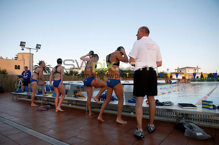 PICTURE BY VAUGHN RIDLEY/SWPIX.COM - Disability Swimming - Warm Weather Training Camp - Best Swim Centre, Colonia Sant Jordi, Mallorca, Spain - 23/05/12.