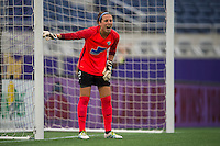 Orlando, FL - Sunday July 10, 2016: Jami Kranich during a regular season National Women's Soccer League (NWSL) match between the Orlando Pride and the Boston Breakers at Camping World Stadium.