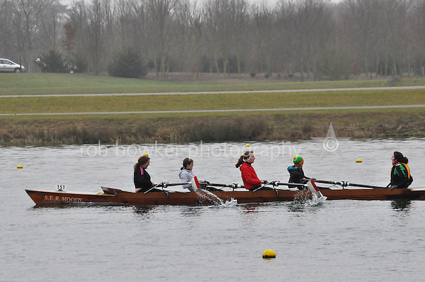 151 Poole ARC Coastal W Nov 4+..Marlow Regatta Committee Thames Valley Trial Head. 1900m at Dorney Lake/Eton College Rowing Centre, Dorney, Buckinghamshire. Sunday 29 January 2012. Run over three divisions.