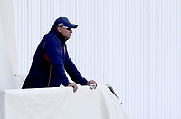 Andre New of Essex looks on from the players balcony during Warwickshire CCC vs Essex CCC, Specsavers County Championship Division 1 Cricket at Edgbaston Stadium on 11th September 2019