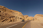 Israel, route 12 in the Negev