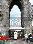 mass for the Domicians at Magadelene Tower. Photo:Colin Bell/pressphotos.ie