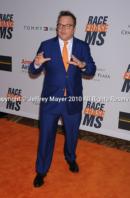 CENTURY CITY, CA. - May 07: Tom Arnold  arrives to the 17th Annual Race To Erase MS held at Hyatt Regency Century Plaza on May 7, 2010 in Century City, California.