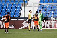 12th July 2020; Estadio Municipal de Butarque, Madrid, Spain; La Liga Football, Club Deportivo Leganes versus Valencia; Dani Parejo (Valencia CF) sets up and  takes the penalty which was saved