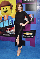 WESTWOOD, CA - FEBRUARY 02: Cobie Smulders attends the Premiere Of Warner Bros. Pictures' 'The Lego Movie 2: The Second Part' at Regency Village Theatre on February 2, 2019 in Westwood, California.<br /> CAP/ROT/TM<br /> ©TM/ROT/Capital Pictures
