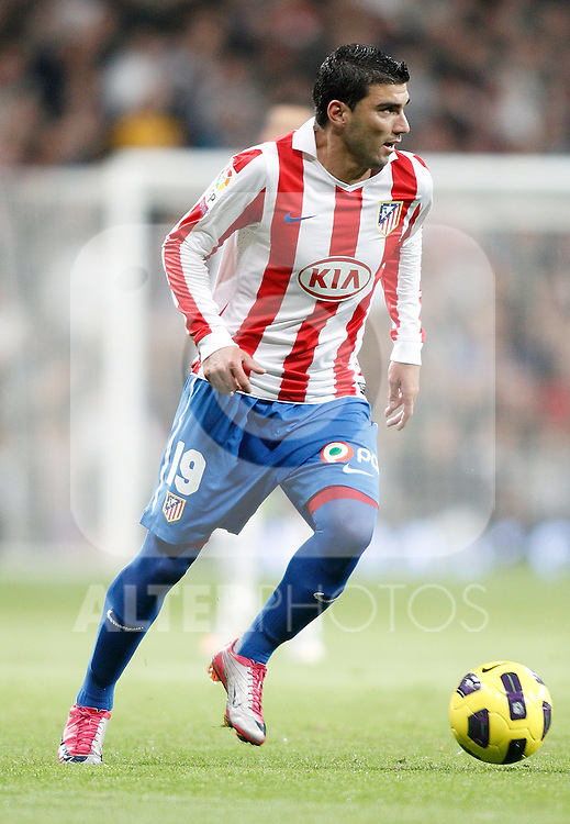 Atletico de Madrid's Jose Antonio Reyes during La Liga match. November 07, 2010. (ALTERPHOTOS/Alvaro Hernandez).