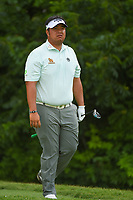 Kiradech Aphibarnrat (THA) heads down 6 during round 2 of the 2019 Charles Schwab Challenge, Colonial Country Club, Ft. Worth, Texas,  USA. 5/24/2019.<br /> Picture: Golffile   Ken Murray<br /> <br /> All photo usage must carry mandatory copyright credit (© Golffile   Ken Murray)