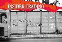 le parole della finanza., Insider trading, illegal stock market activity, mercato finanziario illegale,