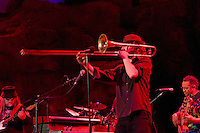Matt Hubard on Trumpet. 7 Walkers in Concert in The Wolfs Den at Mohegan Sun Casino on December 9, 2010
