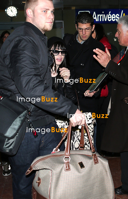 CARLY RAE JEPSEN January 25,, 2013-Carly Rae Jepsen arriving at Nice airport to attend the NRJ Music Awards in Cannes, France.