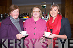SAMPLING: Sampling some of the food at the Garvey's Food & Wine fair in The Carlton Hotel, Tralee in aid of Tralee Lions Club, Susan Blennerhassett, Joy Frizell and Karen Blennerhassett.. . ............................... ..........
