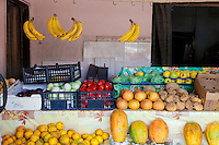 Tulum, Mexico - fruit and vegetable stand