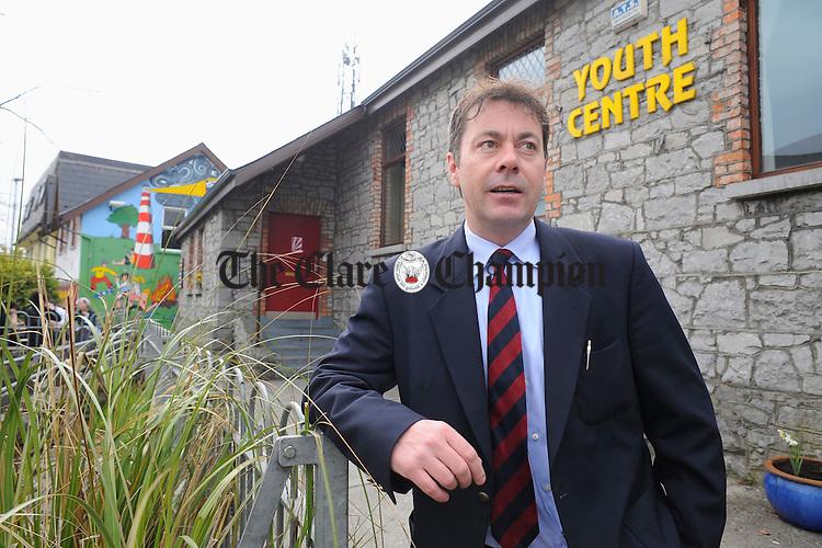 Election candidate Paul O'Shea. Photograph by John Kelly.