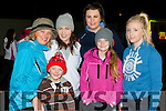 Marie, Thomas and Amy Myer,  Rachel Leech, Katie Herlihy and Katie Sheehan at the Darkness into Light walk at Killarney Racecourse Saturday morning