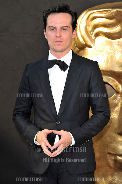 Andrew Scott arriving for the BAFTA TV Awards 2012 at the Royal Festival Hall, South Bank, London. 27/05/2012 Picture by: Steve Vas / Featureflash