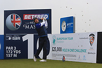 Gonzalo Fdez-Castano (ESP) and on the 10th tee during the Pro-Am of the Betfred British Masters 2019 at Hillside Golf Club, Southport, Lancashire, England. 08/05/19<br /> <br /> Picture: Thos Caffrey / Golffile<br /> <br /> All photos usage must carry mandatory copyright credit (© Golffile | Thos Caffrey)