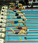 19.08.2014, Velodrom, Berlin, GER, Berlin, Schwimm-EM 2014, im Bild Start, 100m Breaststroke - Men<br /> <br />               <br /> Foto © nordphoto /  Engler