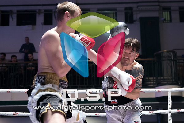 Bradley Spencer vs Iaian Jackson 4x3 - Light Heavyweight Contest During Goodwin Boxing - Venom. Photo by: Simon Downing.<br />