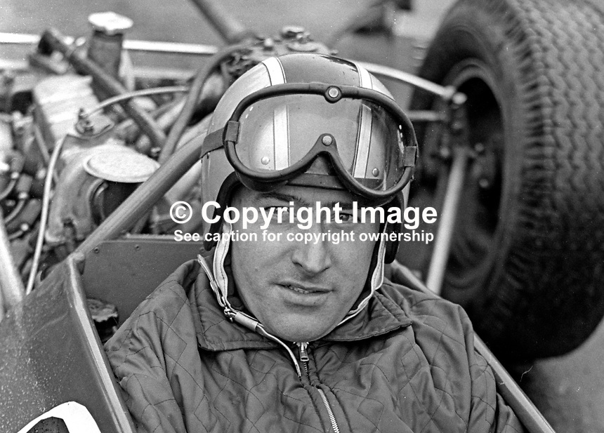 Joe Smyth, Ballymena, Co Antrim, N Ireland, racing driver, taken Kirkiston Track, Co Down. 196709000148<br />