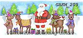 Kate, CHRISTMAS SANTA, SNOWMAN, WEIHNACHTSMÄNNER, SCHNEEMÄNNER, PAPÁ NOEL, MUÑECOS DE NIEVE, paintings+++++Christmas page 77 1,GBKM209,#x#