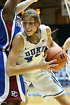 17 November 2012: Duke's Allison Vernerey (FRA). The Duke University Blue Devils played the Presbyterian College Blue Hose at Cameron Indoor Stadium in Durham, North Carolina in an NCAA Division I Women's Basketball game. Duke won the game 84-45.