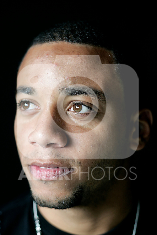 Real Madrid's Marcelo during portrait session, November 07, 2008. (ALTERPHOTOS/Alvaro Hernandez)