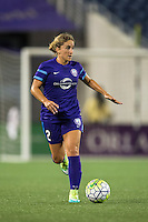 Orlando, FL - Saturday July 16, 2016: Camille Levin during a regular season National Women's Soccer League (NWSL) match between the Orlando Pride and the Chicago Red Stars at Camping World Stadium.