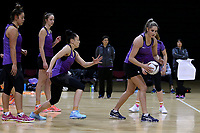 01.09.2017  Te Paea Selby-Rickit of during the Silver Ferns training session ahead of the Quad Series at the ILT Stadium Southland in Invercargill. Mandatory Photo Credit ©Copyright photo: Dianne Manson/Michael Bradley Photography